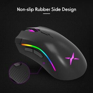 Image 5 - Delux M625 RGB Backlight Gaming Mouse 12000 DPI 12000 FPSตั้งโปรแกรมได้7ปุ่มเมาส์ออฟติคัลUSBเม้าส์คอมพิวเตอร์FPS gamer