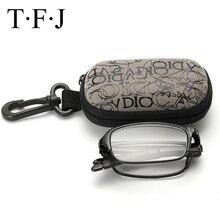 TFJ Portable Lightweigt Foldable Reading Glasses Men Folding Presbyopic WOMEN Diopter 1.0 1.5 2.0 2.5 3.0 3.5 4.0
