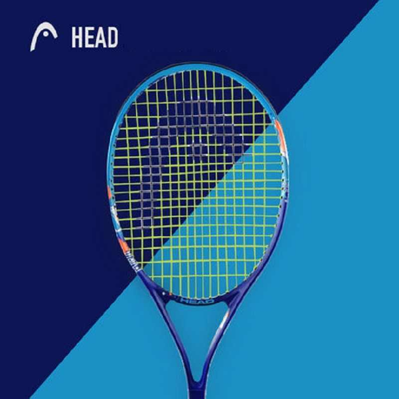 Genuine HEAD Tennis Racket Carbon Tennis Racquets With Bag Grip Tennis String Tenis Masculino Raquet HEAD Tenis Racket Grip 41/4
