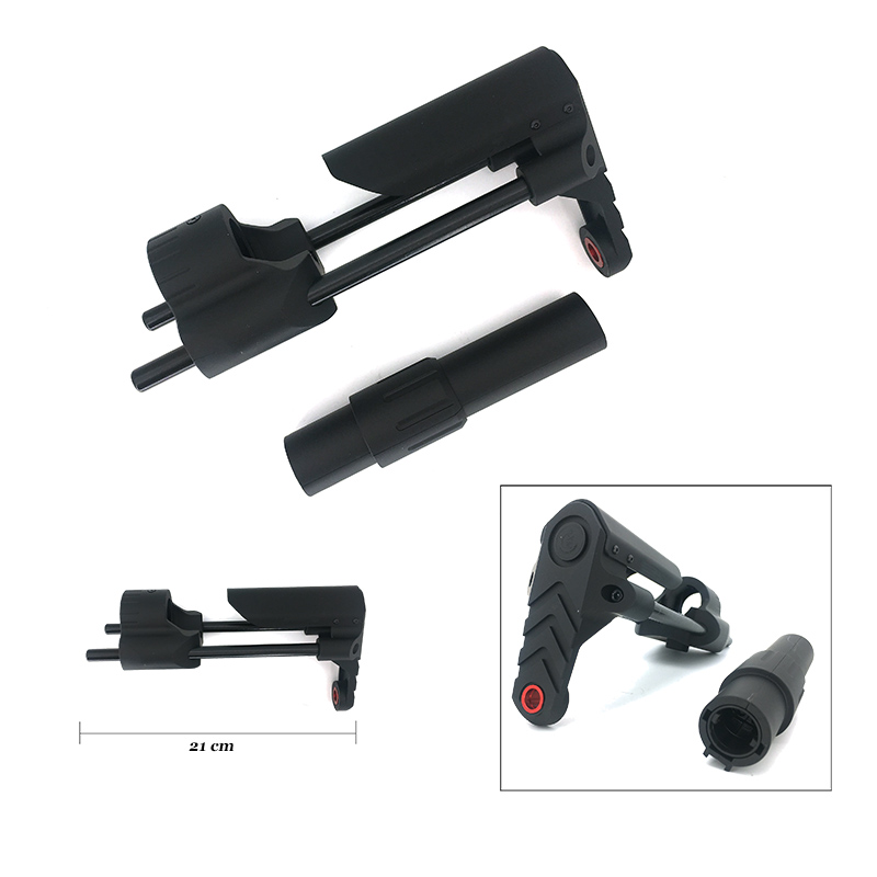 Water Gel Blaster Gun Buttstock M4A1 For JM Gen 8 Gen 9 Nylon