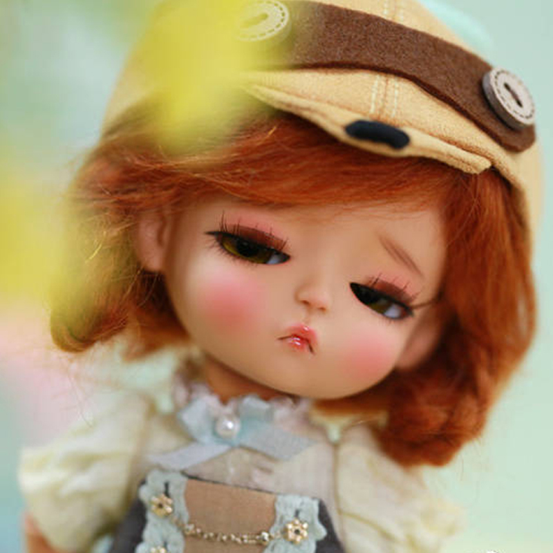1/8 BJD Doll BJD/SD Fashion Cute Doll YellowG.B mystic Joint Resin For Baby Girls Gift With Free Eyes stenzhorn bjd doll 1 6doll colette joint doll free eyes