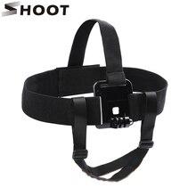 Снимать нейлон Harness Head ремень для GoPro Hero 6 5 4 3 SJCAM SJ4000 Yi 4 К H9 действие Камера С подбородок ремень крепления Go Pro аксессуар