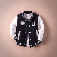 Glittery Sweet Design Boys Girls Clothes Spring Autumn Kids Jacket Fashion Letter Children Clothing 2 Color