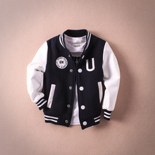glittery sweet Design Boys Girls Clothes Spring Autumn Kids Jacket Fashion Letter Children Clothing 2 Color Baseball Coat