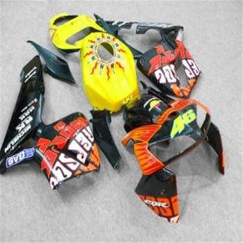 Nn-Injection mold Fairing kit for CBR600RR F5 05 06 CBR 600RR 2005 2006 CBR600 yellow orange Fairings set+ gifts