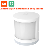 100% Original Xiaomi Mijia Human Body Sensor Smart Body Movement Motion Sensor Zigbee Connection Mihome App via Android&IOS new updated xiaomi aqara human body sensor smart door and window sensor zigbee connection mihome app control