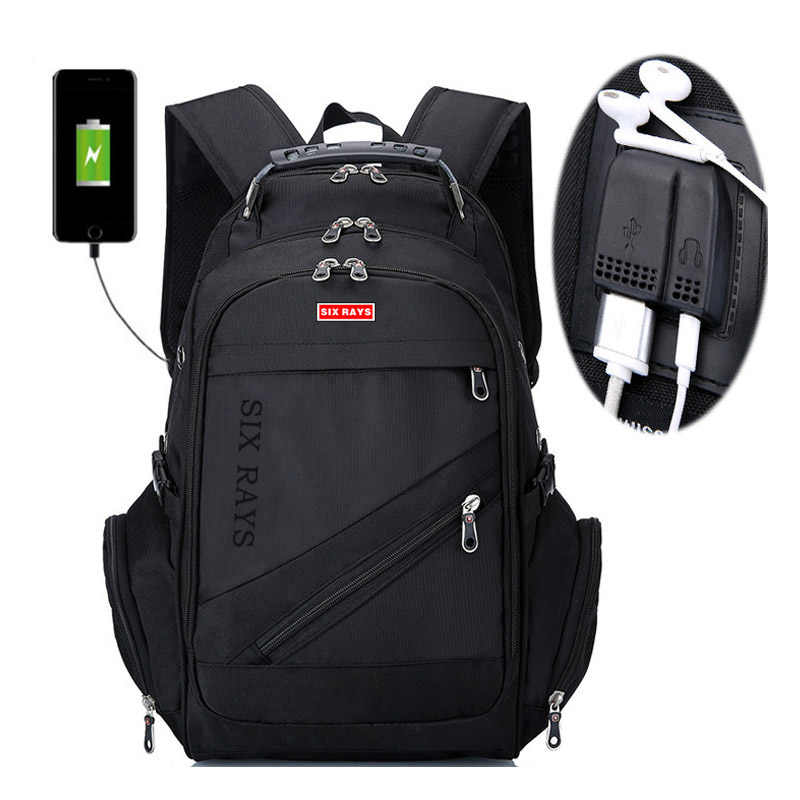 """Бренд Швейцарский ноутбук 15 """"рюкзак Внешний Швейцарский компьютер рюкзаки Противоугонный рюкзак непромокаемые сумки для мужчин женский рюкзак"""