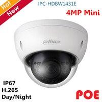 Original Dahua 4MP WDR IR Mini Kamera Cmos Tag Nacht vision H.265 H.264 Wasserdichte Kamera Ip kamera Unterstützung POE Englisch version-in Überwachungskameras aus Sicherheit und Schutz bei