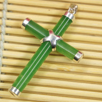 The manufacturer sells natural pendant cross for men and women.