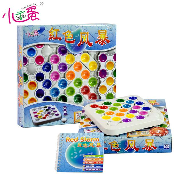 candice guo! Educational plastic toy red storm Sliding Block intellect desktop logic game kids children birthday Christmas gift