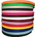 1'' (25mm)width 10meters fabric tape, ribbon weaving, polypropylene webbing,weave band.15color optional
