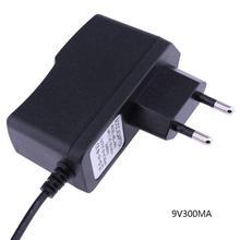 ALLOYSEED 1 шт. AC 100 V-240 адаптер конвертер DC 9V 300mA Питание ЕС AU штепсельная вилка американского стандарта 5,5 мм x 2,1 мм для светодиодные ленты светодиодный ТВ коробка