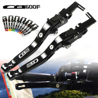 For Honda CB600F 1989 2006 2007 2013 CB 600F 600 F Motorcycle CNC Aluminum Adjustable Folding Extendable Brake Clutch Levers