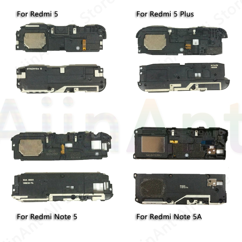 Phone Loudspeaker Flex For Redmi Note 3 3s 4 4x 5A 5 Plus 6 6A 7 Pro Loud Sound Buzzer Ringer Phone Speaker Flex Cable