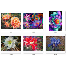 diamond painting abstract flowers 5d full drill square embroidery