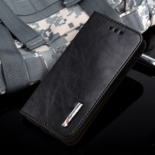AMMYKI card pocket high quality Vogue flip stents PU leather cell phone back cover 5.0'For CUBOT P11 case(China)