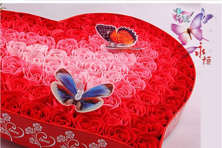 100kpl hajustettua paperia ruusukukkakylpysaippua, jossa on 2 - Tavarat lomien ja puolueiden - Valokuva 6