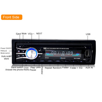 Car Bluetooth MP3/FM Radio Function CD Player Displayer 2018 Auto Parts High Definition Car Radios with Navigation DVD Player