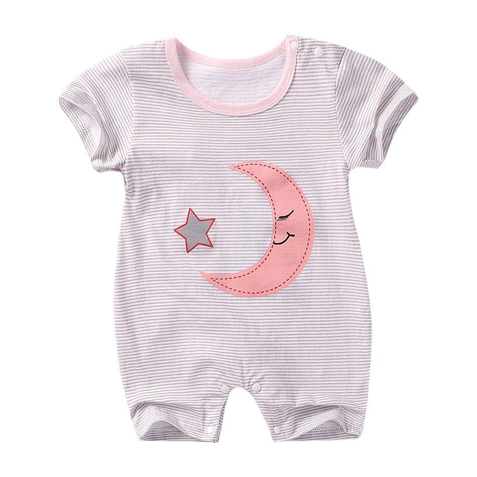 Joyo roy Baby jongens & meisjes zomerkleding korte mouw rompertje - Babykleding - Foto 3