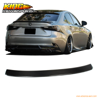 Fit 14 16 Lexus IS250 IS350 IKON Style Rear Roof Spoiler Carbon Fiber USA Domestic Free Shipping