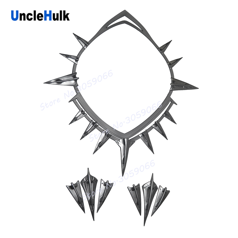 Black Panther Necklace & Arm Ornaments Edition 3 Type A Cosplay Props - in Captain America Civil War  | UncleHulk