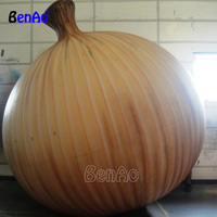 Z893 BenAo Free shipping Onion Shaped Inflatable Giant Balloon, Cute Onion Shape Inflatable Balloon for Advertising/Decoration