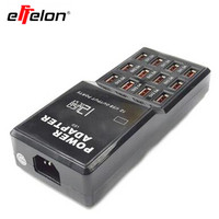 Effelon EU US Plugs 5V 12A Output Max 3 5A 12 Ports USB Socket Power Fast