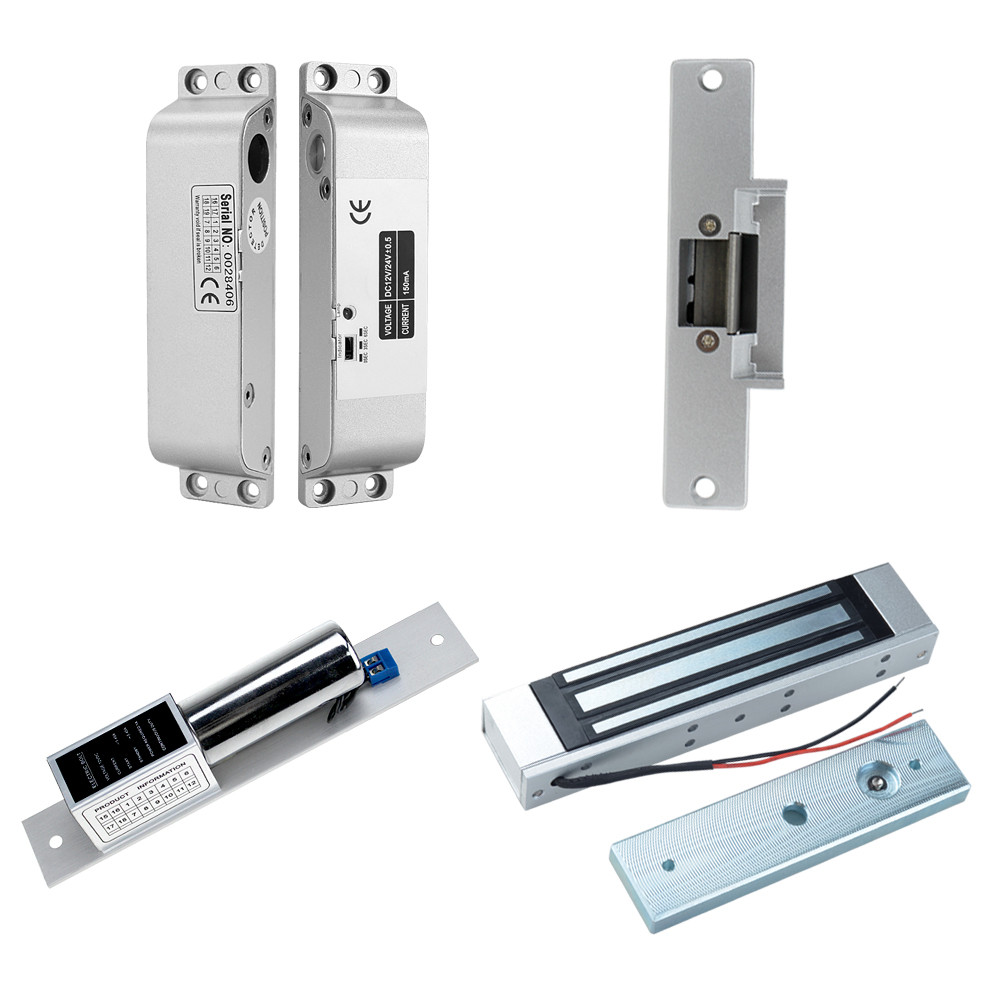 Image 5 - RFID Touch Waterproof Metal Access Controller System with 12VDC NC/NO Electric Bolt Lock /Magnetic Lock for Security door-in Access Control Kits from Security & Protection