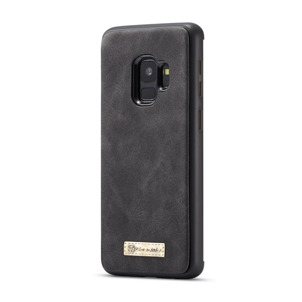 For Galaxy S9 Plus Wallet Case 2 In 1 Detachable Folio Magnetic Genuine Leather Cover Case For Samsung Galaxy S9 S10 E Note 9