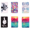 Fashion Art Paint Case Cover For Apple iPad Air /iPad 5 (2013) PU Leather Flip Smart Stand Card Wallet Case for iPad Air 1 Gen