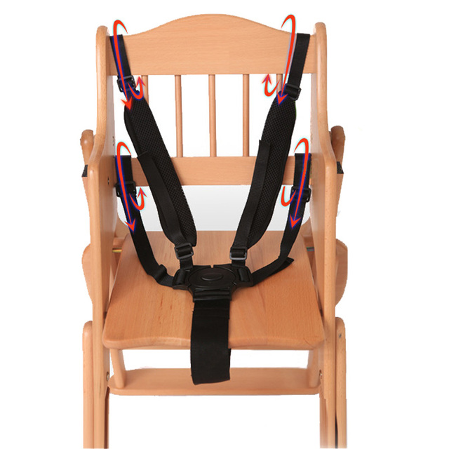 Useful Home Baby 5 Point Harness Belt Protector For Stroller Chair Safety 360 Rotating Hook