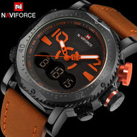 New Arrive NaviForce Brand Watch Men Fashion Sport Digital Watches Men Alarm Waterproof Dual Display Wristwatches