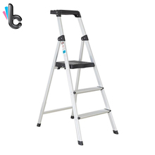 Multifunction-Supply-Tool Ladder-Pedal Folding Kitchen Aluminum for Stretch Placement