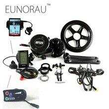 Livraison gratuite 36v500w 8fun bafang BBS02B Ebike vélo Électrique Moteur 8fun mi entraînement vélo électrique conversion kit