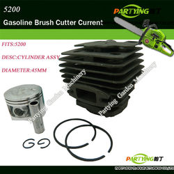 Piston cylinder assembly kit for 52cc chainsaw free shipping in stoke brush cutter trimmer.jpg 250x250