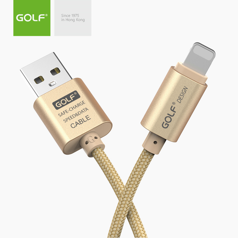 <font><b>GOLF</b></font> 3m 2m 1m <font><b>USB</b></font> Data Sync Charge Cable for iPhone X XS MAX XR 5 5S 6 6S 7 8 Plus SE Fast Charging Original <font><b>USB</b></font> Charger Cables image