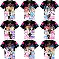 2017 Nueva Summer Love Live! Aqours Camisetas Anime Takami Chika Sakurauchi Riko kanan Matsuura Cosplay