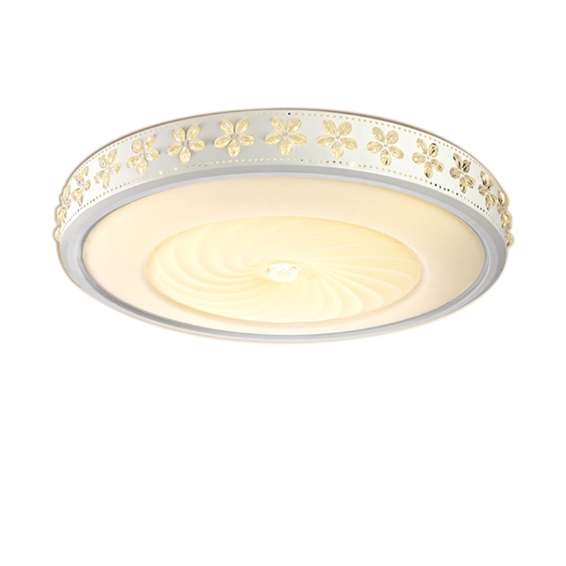 Top Led Ceiling Lights Bedroom Living Room Modern Ceiling Lamp 110v-220v Creative Lace Round LED Acrylic Kids Ceiling Lamps modern led ceiling lights for children acrylic led dimming ceiling lamp 110v 220v round ceiling fixtures lights sourface mounted