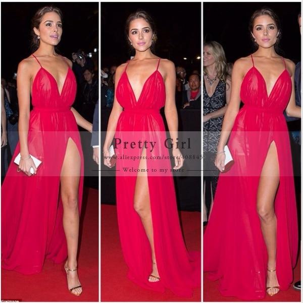 2016 Fashion Long Women Casual Dress Vestido De Renda Free Shipping  Backless Slit Chiffon Evening Dresses Sexy Prom Party Gown f27bcb8d26e6