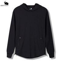 Mens Brand Sweatshirts New Arrival Mens Hoodie In Black Pullover Hoody Side Zipper Sweatshirts For Mens