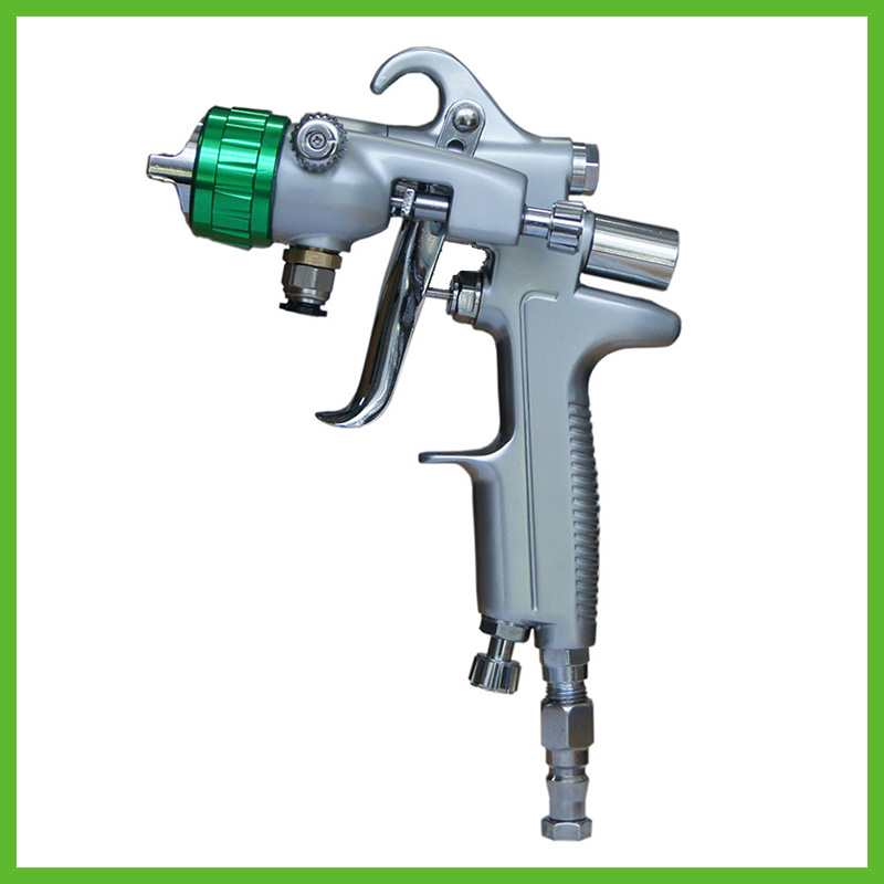 SAT1189 free shipping nano  chrome painting high pressure dual head pneumatic sprayer hot on sales double nozzle spray gun стоимость