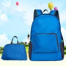 2019 Hot Fashion Women Men Backpack Riding Back Pack Bag Ultra Light Folding Waterproof Travel Nylon Shoulder Bags Handbag FC55