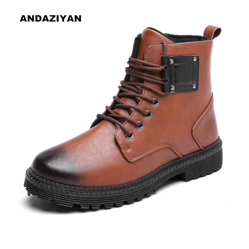 Burst models Martin boots Fashion men 39 s fashion trend of urban boots are essential shoes men