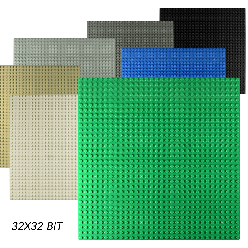 Classic Dots Base Plates Plastic Bricks Baseplates Compatible Legoing Toys City Dimensions Building Blocks Construction DIY Toys