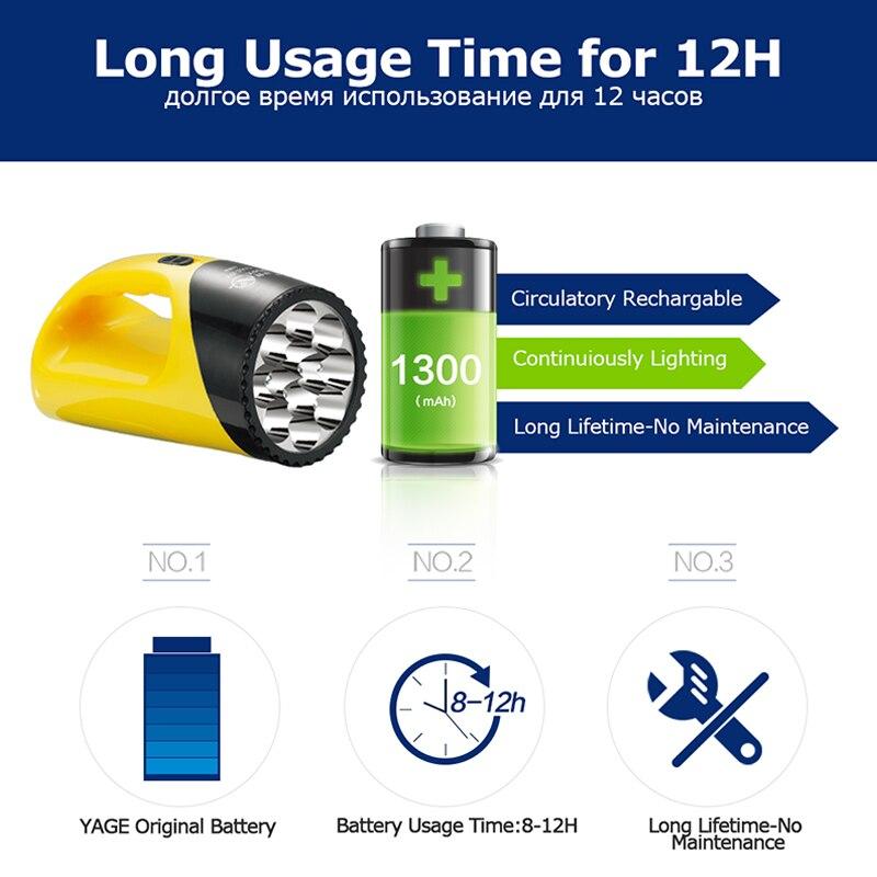 портативный светодиодный прожектор YG-3337