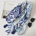 Women Cotton Scarf Diamond Long Shawl Female Large Winter Geometric Tassels Scarves New 180x100 cm [1895]