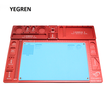 Large Microscope Base Phone Repairing Tools Maintenance Platform with Resistance High Temperature Anti-static Welding Workbench