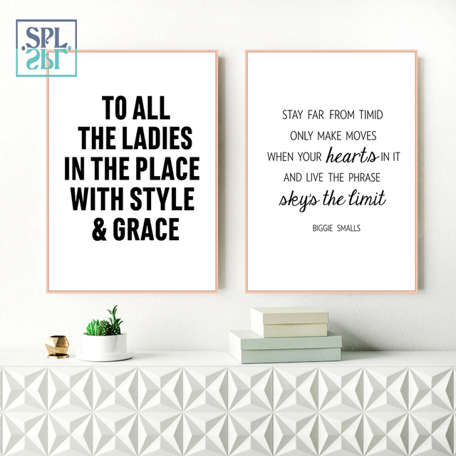 Splspl Rap Lyrics Picture Canvas Wall Art Home Decoration Print Poster And Painting For Living Room