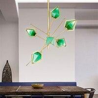 Nordic современные фонари E14 светодиодный люстра роскошные Гостиная подвесные светильники Спальня Кухня лампа Hanglamp светильники Avize