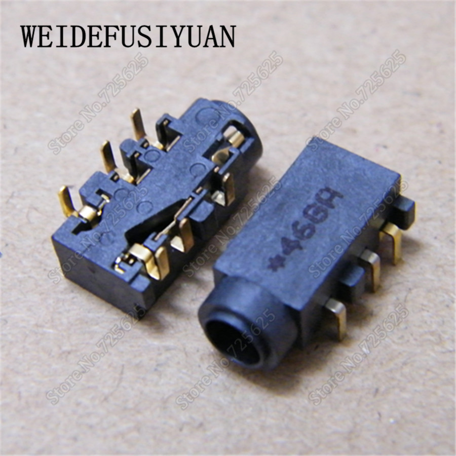 6-pin 3.5mm Audio Jack Headphone Port Microphone Socket Connector for Asus N550 Q550 Q550LF N550J N550JA N550JV N550JK N550LF